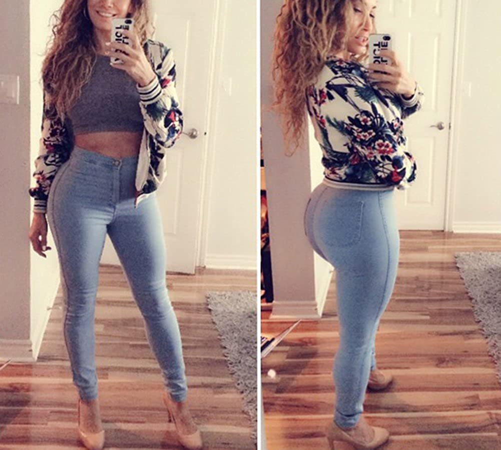 High waisted jeans for curves