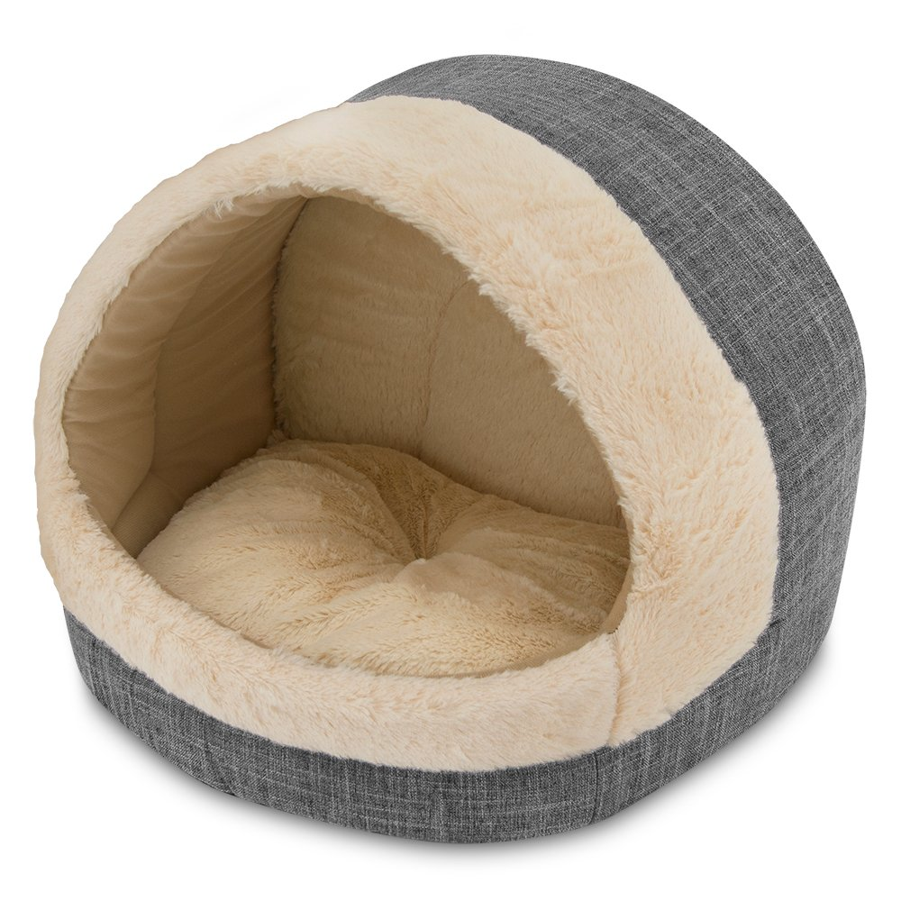 Best Pet Supplies, Inc. Cozy Cat Cave, Inc, Inc, 17''x15''x14, Grey by Best Pet Supplies, Inc.