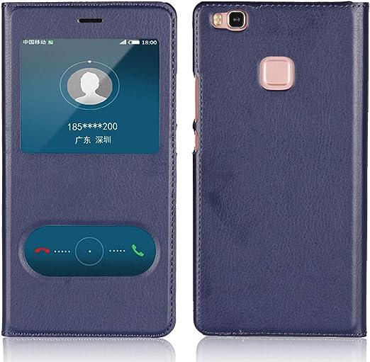 Amazon.com: Jaorty Huawei P9 Lite Case,Ultra Thin Flip Cover Case ...