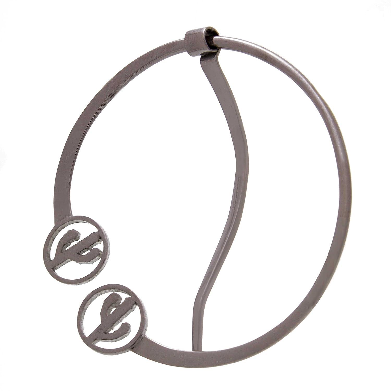 Amazon.com: Februa Fibula Brooch Shawl Pin For Women | Unique Modern  Designs | Bronze Alloy Lightweight Jewelry Accessory (Cactus Dream 2.3 In.