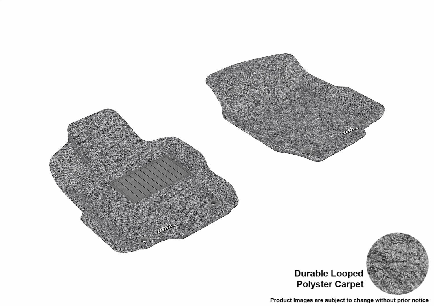 Nylon Carpet Black Coverking Custom Fit Front Floor Mats for Select GMC Envoy XUV Models
