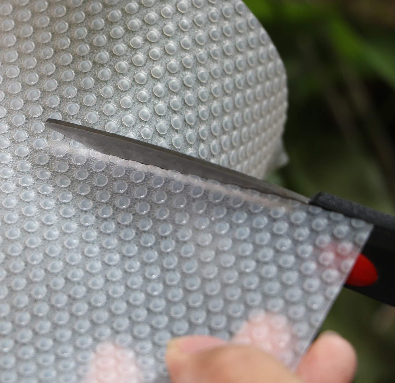 Mesas Cocina Gabinete Hersvin 30x150cmx3 Rollos Alfombra Antideslizante para Cajon de EVA Transparente//Puntos No-Adhesivo Impermeable Antibacteriano Proteger Estantes Refrigerador