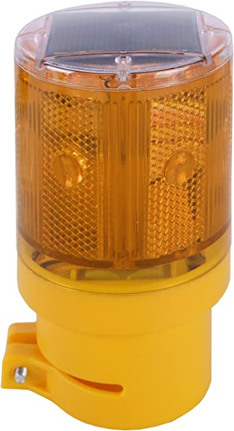 Heavy Duty High Profile LED Industrial Flashing Amber Beacon 10-110v