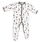 Kyte BABY Printed Footie (NB, Woodland)