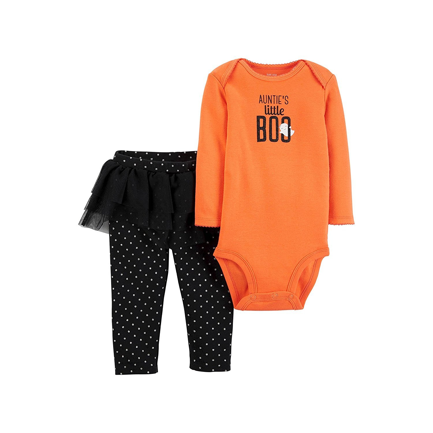 8cae1a397d01 Amazon.com  Carters Baby Girls Aunties Little BOO Halloween Bodysuit ...
