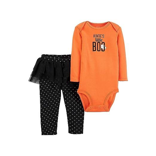 8cae1a397d01 Amazon.com  Carters Baby Girls Aunties Little BOO Halloween Bodysuit ...