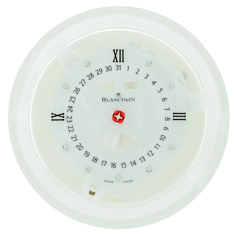 Blancpain 3663 a-4654–55B Untergang & Kalender 27 mm Zifferblatt fÜr 34 mm Armbanduhr