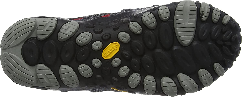 Homme Multicolore Chameleon Wrap Slam - 41,5 EU Merrell Anthracite//Rouge Chaussure de randonn/ée