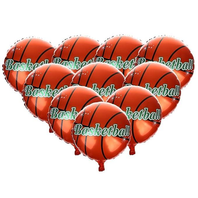 P Prettyia - Balón de Baloncesto, diseño de Hoja para bebés ...