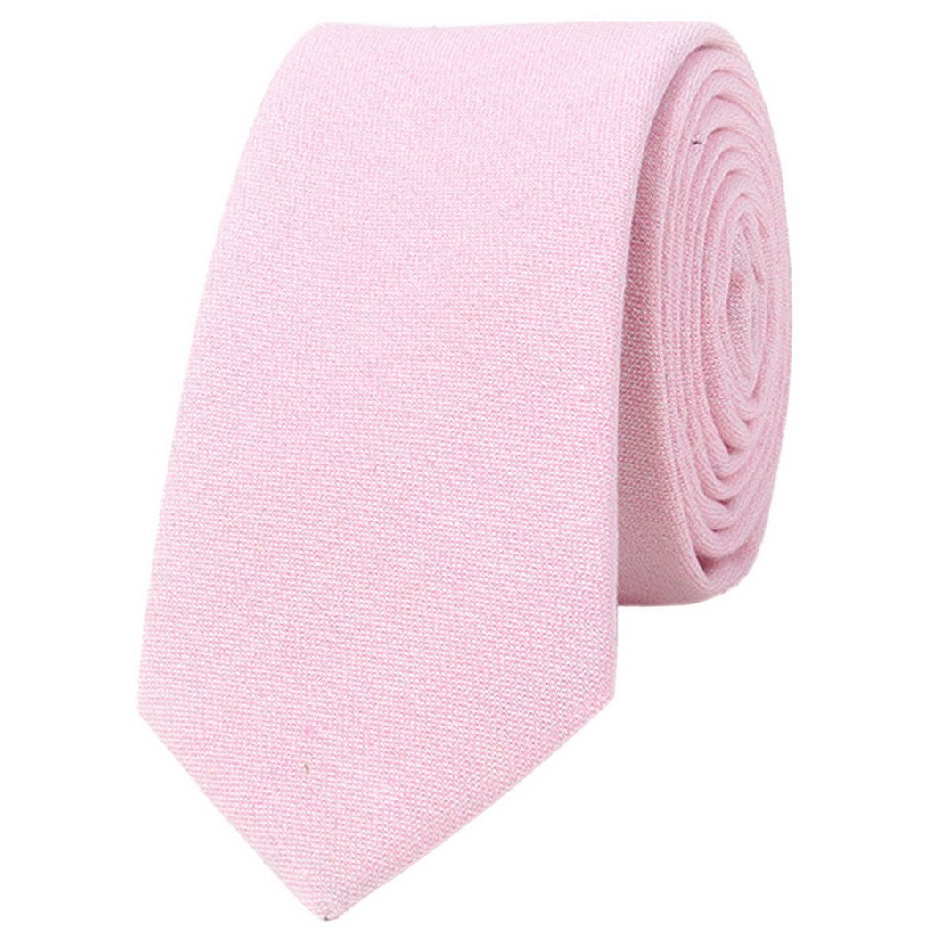 Mens Wedding Necktie Vintage Elegant Formal Classic Business Ties Collections Pink