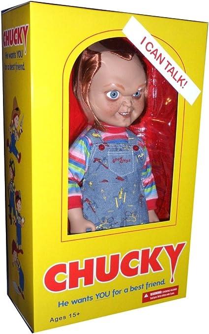 "15/"" Chucky Scarred Talking Good Guy Doll"