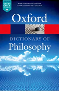 Image result for the oxford dictionary of philosophy