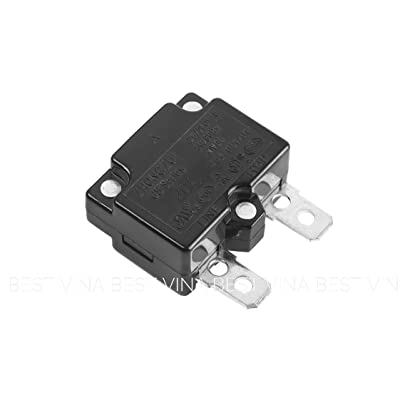 SHENGLE 20A Automatic Reset Relay Fuse Therma Switch Circuit Breaker Current Overload Protector Kids Ride On Car Accessories: Toys & Games