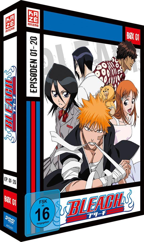 Bleach TV-Serie - DVD Box 1 (Episoden 1-20) by