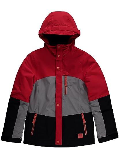 Chaqueta De Snowboard para Niña Oneill Coral Hibiscus Rojo (14 Años De Edad, Rojo