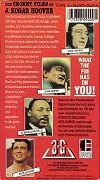 Amazon Com Secret Files Of J Edgar Hoover Vhs J