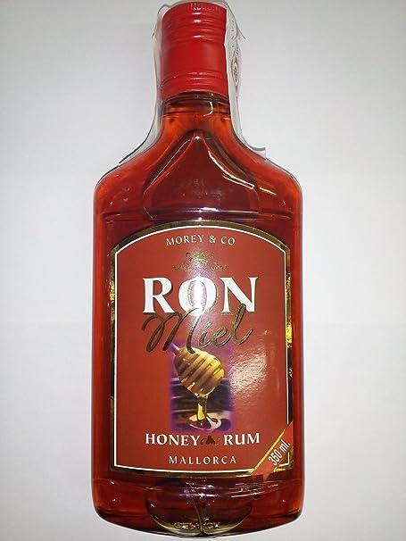 Ron Miel 350ml Morey & Co Petaca Plastico: Amazon.es ...