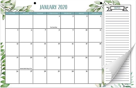 2019 Photo Calendar Marbel /& Brushstock Month To View Square Family Calendar