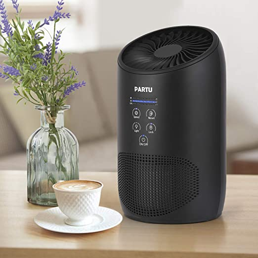 Review PARTU Air Purifier Smoke