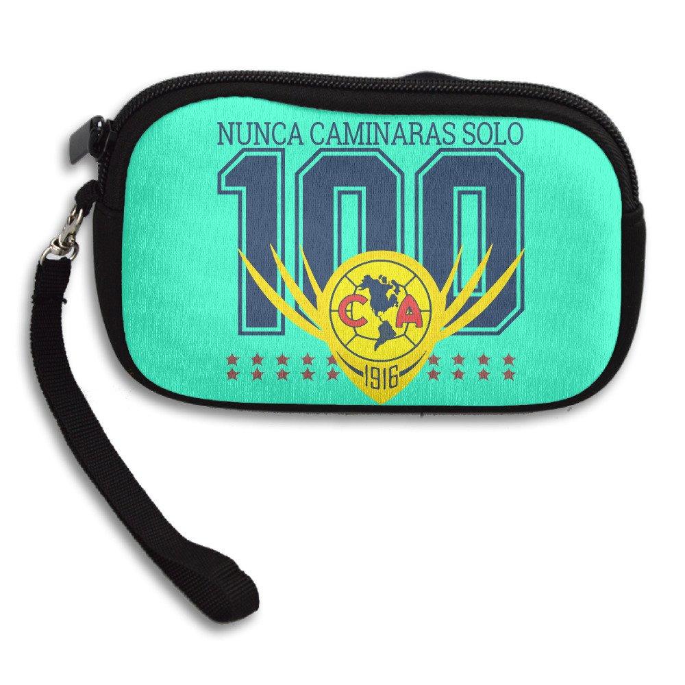 Logo 100 Años De Grandeza De Club America Coin Purse Wallet Handbag