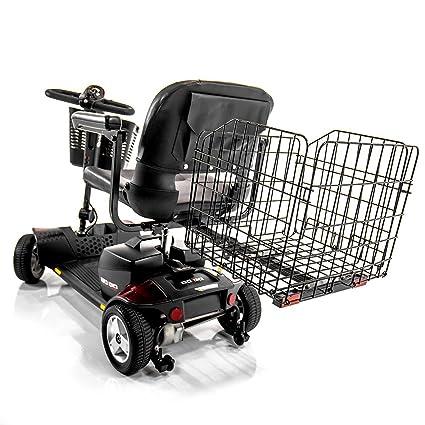 Challenger Movilidad Scooter plegable cesta trasera para orgullo, Go-Go, Buzzaround, disco