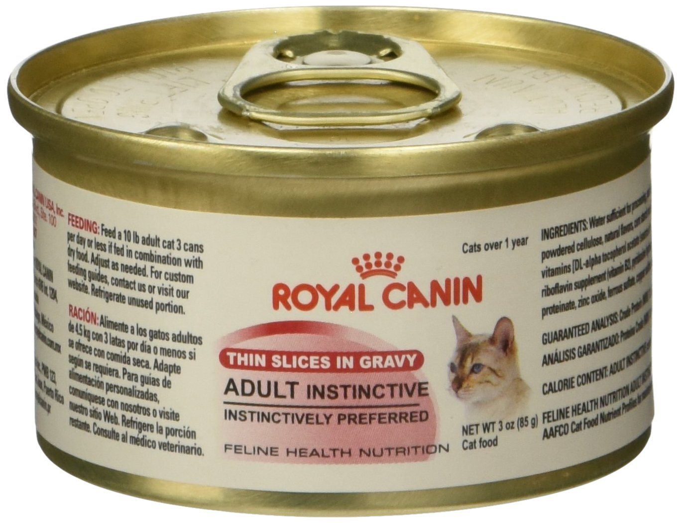 Royal Canin Feline Health Nutrition Adult Instinctive Thin Slice In Gravy c