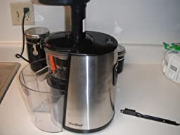 Vonshef Slow Juicer Review : Amazon.com: Customer Reviews: vonShef 150W Slow Masticating Single Auger Juicer Extractor ...