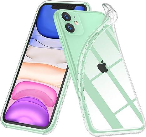 UGREEN Cover iPhone 11 in TPU Trasparente Morbido Sottile Custodia