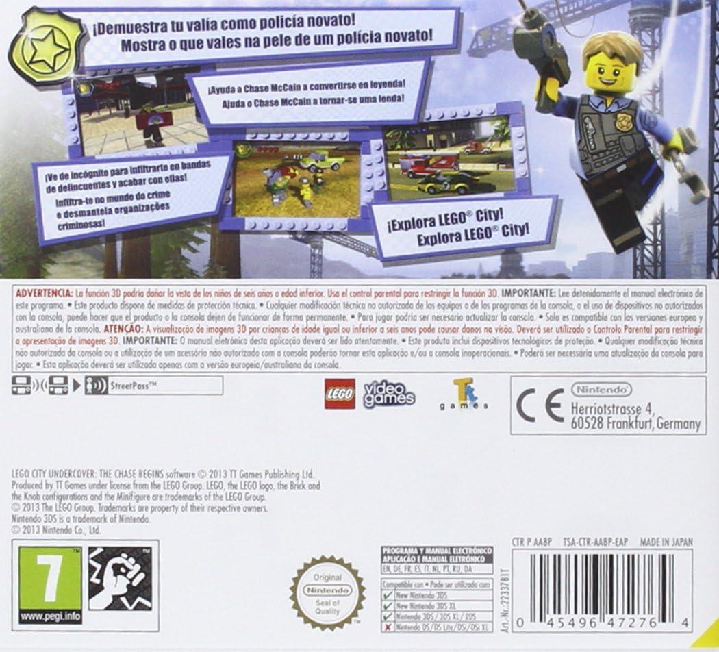 LEGO City: Undercover (Nintendo Selects): Amazon.es: Videojuegos