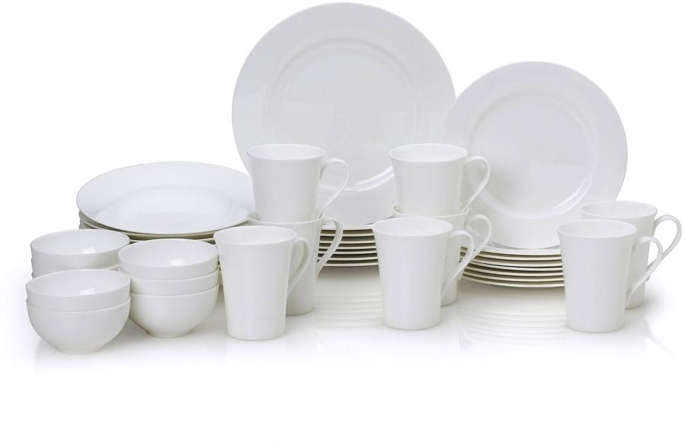 Buy Lucerne White 40 Piece Dinnerware Set online at Mikasa.com