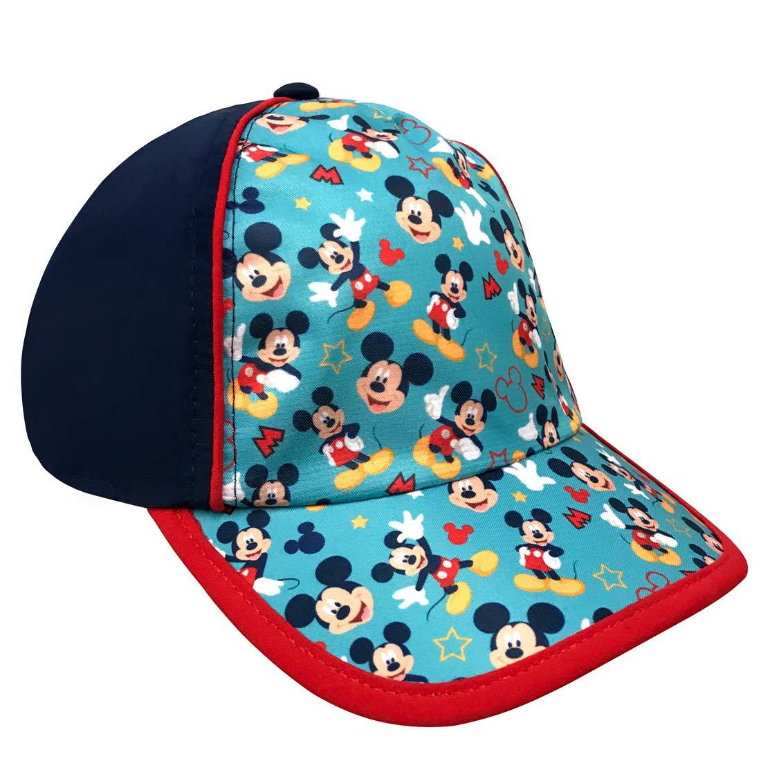 7bd27148dac486 Amazon.com: Disney Boys Mickey Mouse Baseball Cap, Age 4-7 - 100% Cotton:  Clothing