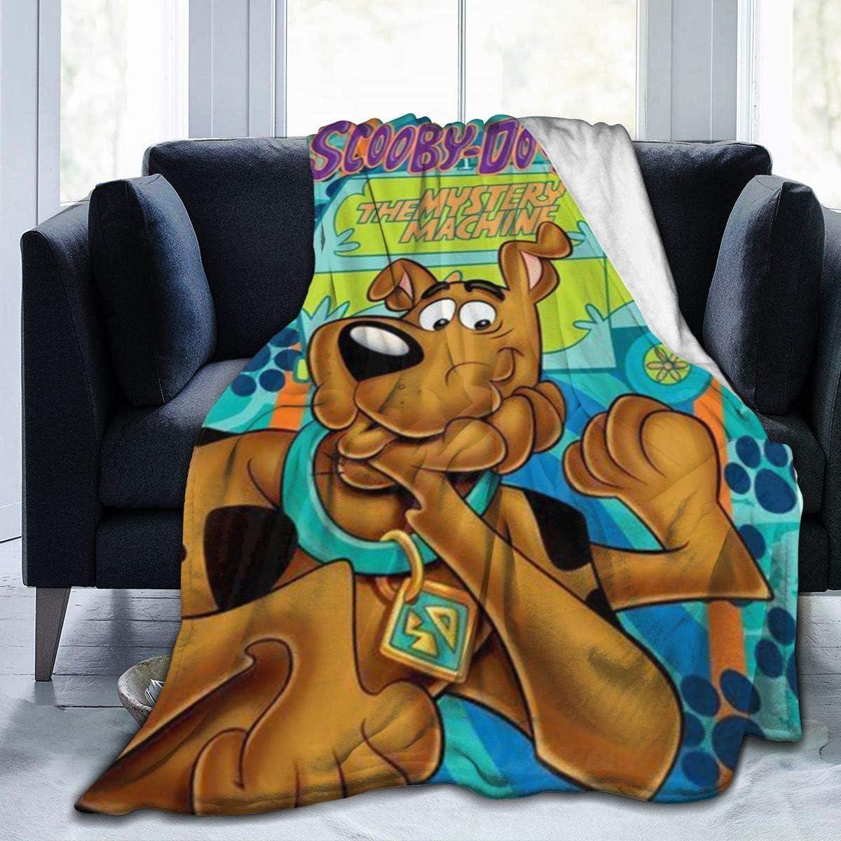Scoob-y Do-o Blanket Flannel Throw