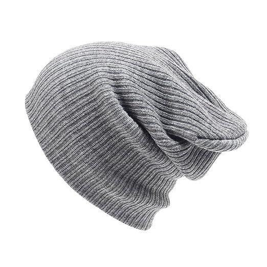 2f13bf134dc2a5 Ruhiku GW Men's Women Beanie Knit Ski Cap Hip-Hop Winter Warm Unisex Wool  Hat