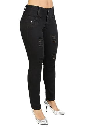 96f16183a Amazon.com  Curvify 764 Women s Butt-Lifting Skinny Jeans