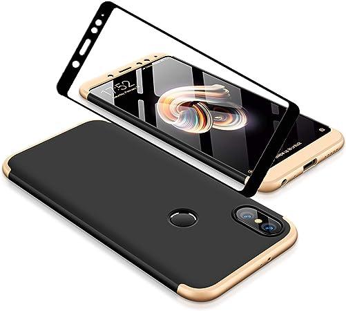 YFXP Xiaomi Redmi Note 5 Funda - Funda Xiaomi Redmi Note 5 360 Grados Integral para Ambas