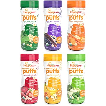 best Happy Baby Superfood Puffs reviews