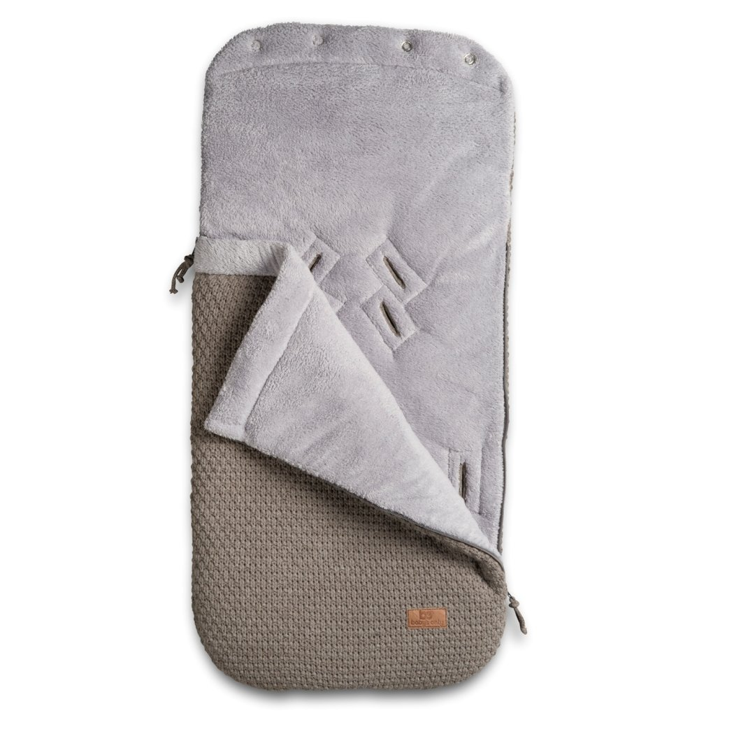 Baby's Only Robust 163312 Foot Muff for Use in Carry Cots / Car Seats / Buggies Knitted Corn-Coloured Baby's Only