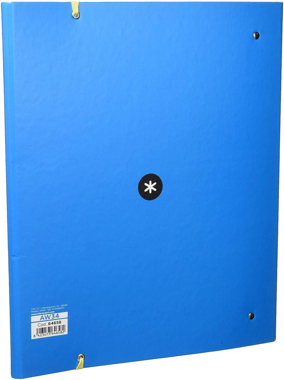 Liderpapel 64658 - Carpeta con recambio y solapa: Amazon.es: Oficina y papelería