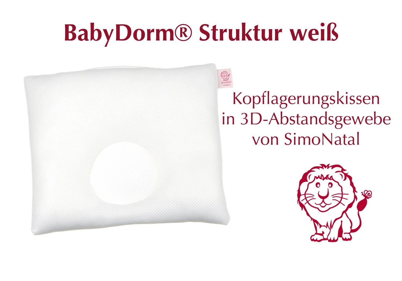 Babydorm Babykopfkissen Original Gr/ö/ße I Lemmy