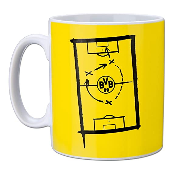 BV Borussia Dortmund 09 Tasse mit Innendekor