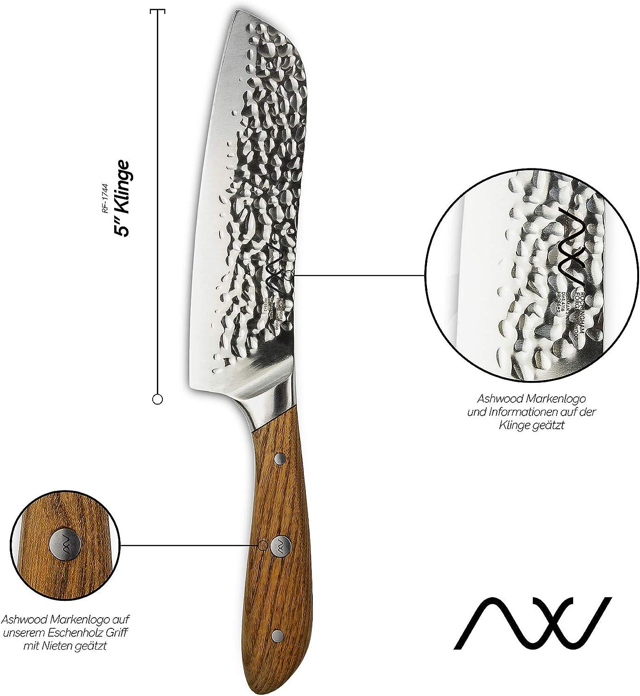 Compra Rockingham Forge - Cuchillo con hoja de acero vanadio y tratamiento de calor, 10 cm, acero, 5 pulgadas en Amazon.es