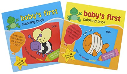 Coloring Books For Kids Babys First Book Educational Learning