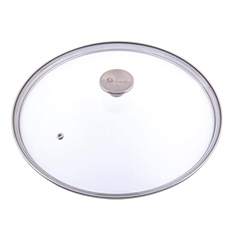 Amazoncom Victoria Glass Lid For 12 Inch Cast Iron Skillet