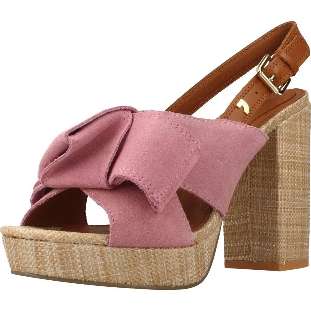 Gioseppo 44086, Zapatos de Tacón con Punta Abierta para Mujer 36 EU|Rosa