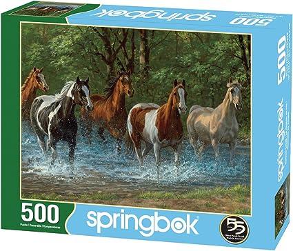 Springbok Summer Creek 500 Piece Jigsaw Puzzle 33-01547