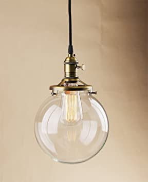 Buyee® Modern Industrial Clear Glass Loft Pendant L& Retro Ceiling Light Vintage Light (antique & Buyee® Modern Industrial Clear Glass Loft Pendant Lamp Retro ... azcodes.com