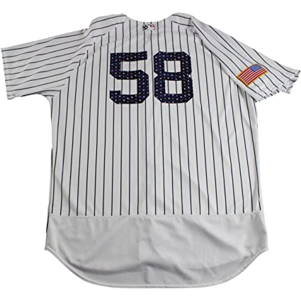 best sneakers dc854 d4bdc Larry Rothschild New York Yankees Game Used #58 Fourth of ...