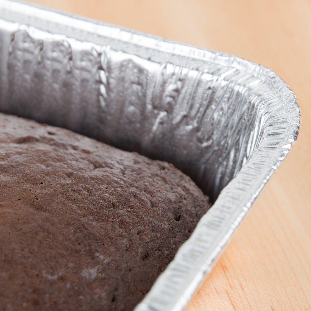 Durable Packaging Disposable Aluminum Cake/Baking Pan, 13'' x 9'' (Pack of 250)