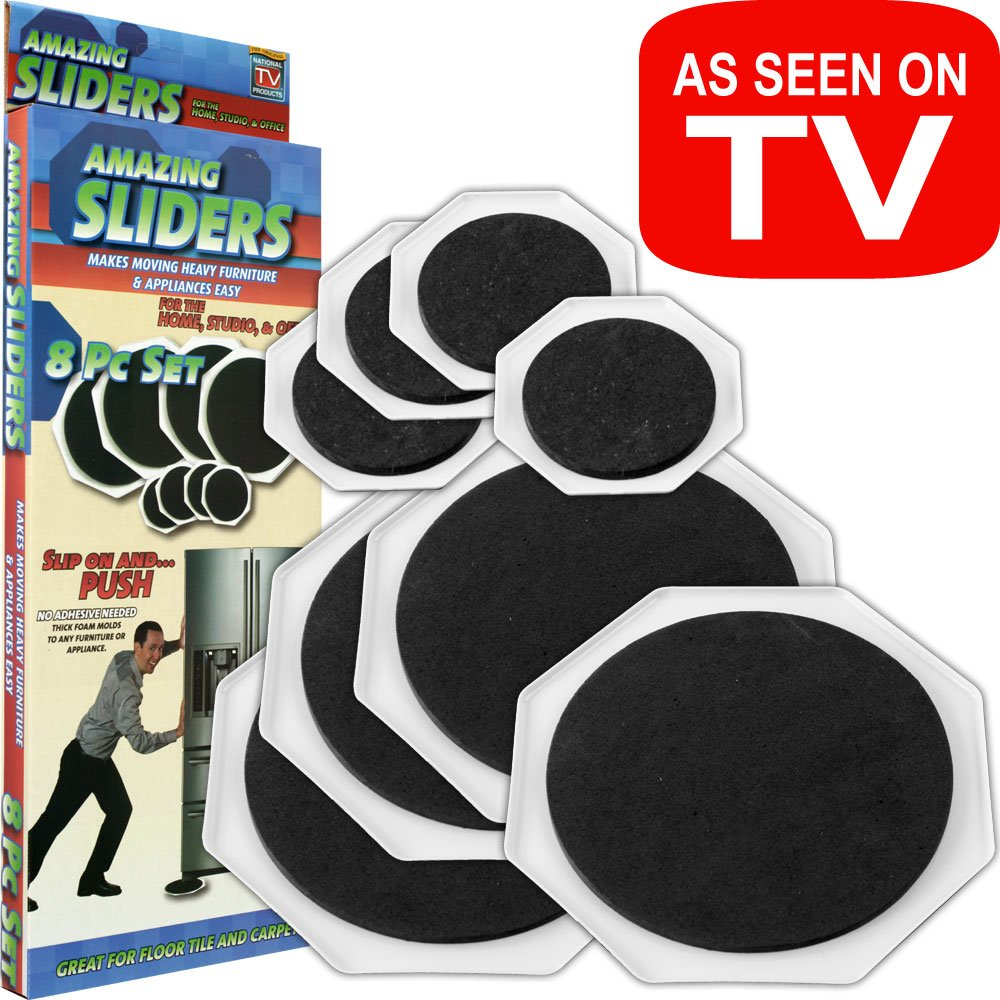 Amazing Sliders 80 43151 Furniture Mover Assistant, Set Of 8   Furniture  Moving Sliders   Amazon.com