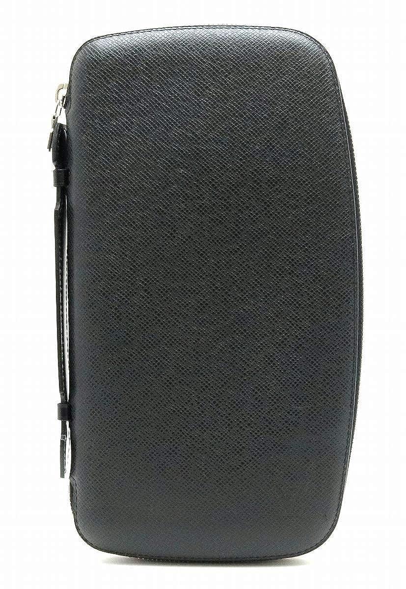 [ルイ ヴィトン] LOUIS VUITTON タイガ オーガナイザー アトール トラベルケース セカンドバッグ レザー アルドワーズ 黒 ブラック M30652 [中古] B07SN2L4QM